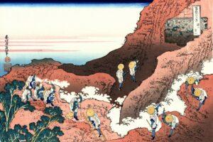 富嶽三十六景・諸人登山